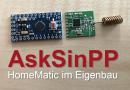 AskSinPP – Funk-Temperatur-/Luftfeuchtesensor