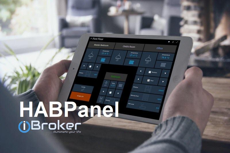 ioBroker HABPanel – Teil 10 – Mit dem Frame-Widget eine VIS-View