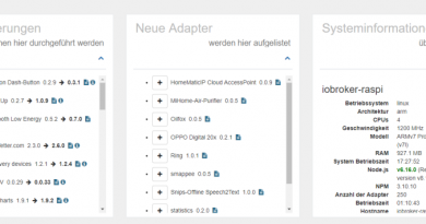 ioBroker Informations-Adapter
