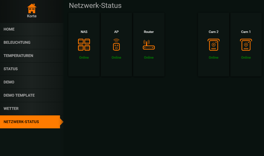 ioBroker HABPanel – Teil 24 – Online-Status Widget – smarthome-tricks de