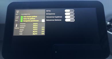 Amazon Echo Show 5 und ioBroker VIS