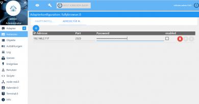 Fullybrowser-Adapter für ioBroker