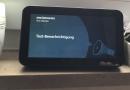 Amazon Echo Show 5 ioBroker Benachrichtigung über JavaScript