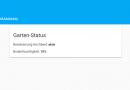 ioBroker Visualisierung mit lovelace – Teil 20 – Das Markdown Widget