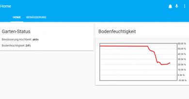 ioBroker Visualisierung mit lovelace – Teil 21 – Das iFrame Widget