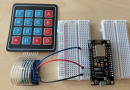 ESP8266 – 4×4 Tastatur an analogen Pin verwenden